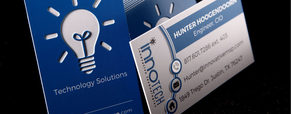 High Impact Business Cards